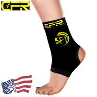 NEW Ankle Support Brace Copper CFR Compression Sleeve Tommie Fit Arthritis S M L
