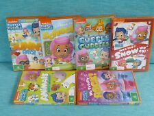 6 x BUBBLE GUPPIES DVDS ANIMALS SUNNY DAYS SCHOOL SNOW TOTALLY ROCK NICKELODEON