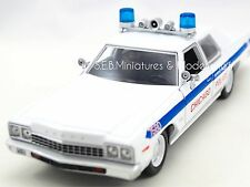 Rare Blues Brothers 1975 Dodge Monaco Chicago Service de Police