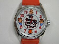 Vintage 1987 40th Anniversary Edition Howdy Doody Time Wind Up Watch, Mint Cond!