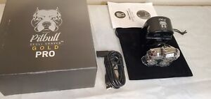 Pitbull Gold PRO Mens Rotary Electric Shaver For Head & Face USB Rechargeable