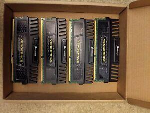 Corsair CMZ16GX3M4A1600C9 (16 GB, PC3-12800 (DDR3-1600), DDR3 RAM, 1600 MHz
