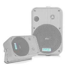 """Pyle PDWR50W Pair of 6.5"""" 500W Indoor/Outdoor Waterproof Speakers (White)"""