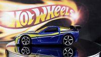 Hot Wheels Loose Corvette C6-R   Blue   PR5's    Malaysia