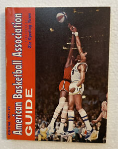 1971-1972 (ABA) American Basketball Association Guide (54)