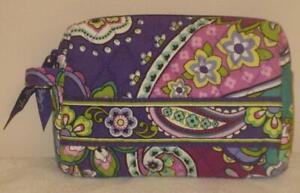VERA BRADLEY Small Zip Cosmetic Case in Heather Print *NWOT*