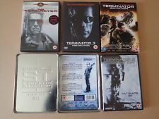Terminator 2 DVD + Collector's Tin plus 1 3 and salvation collection