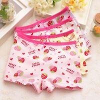 Kids Girl Cartoon Ballet Printed Ruffles Cotton Panties Briefs Underwear Sho HK