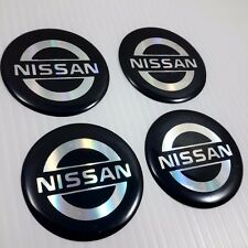 new reflect resin car wheel center caps stickers for Nissan 45 mm decor emblem