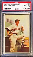 1953 Bowman Paul Richards #39 PSA 8 NM MT