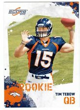 2010 SCORE #396 TIM TEBOW ROOKIE