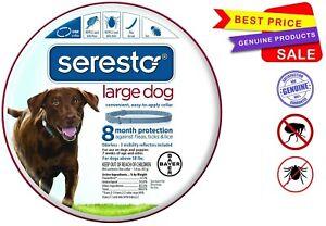 Seresto 8 Month Flea & Tick Prevention Collar for Large Dogs_freeship