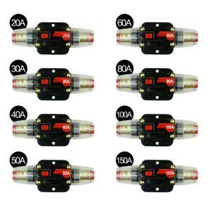 20 - 150A Automatische Sicherung Automat Automatik Schalter Auto KFZ 12V / 24V