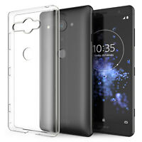 Coque Ultra Fine En Silicone Pour Sony Xperia XZ2 Compact Etui Housse Gel TPU