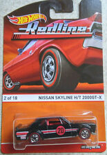 1/64 Hot wheels Red Line  Nissan Skyline HT 2000 GT X