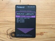 Roland sn-u110-05 Orchestral Strings-Sound Library/PCM data ROMA CARD (d-70
