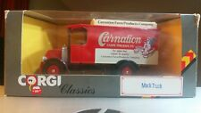 Corgi Carnation Farm Products Delivery Mack Truck, # C906/9, 1:50 Die-cast NIB