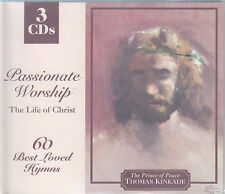 Passionate Worship: The Life of Christ (Kinkade) - 60 Best Loved Hymns (3 CDs)