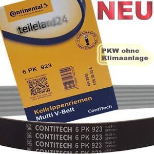 NEU CONTINENTAL 6PK923 Keilrippenriemen für VW POLO 1.7 1.9 ohne Klima 6PK923