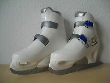 High Q Esprit Schlittschuhe / Weiß/Silber/Blau / Größe 37 / Eishockey / Eislauf