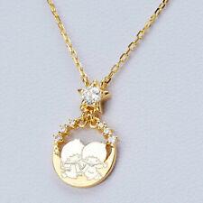 Sanrio Little Twin Stars × The Kiss Swing Twinkle Moon Necklace Japan