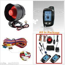 2Way Car Alarm Security System 2Pcs LCD Super Controlers Anti-theft 1000-1500M