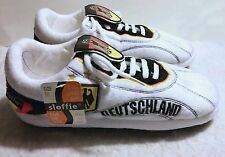 MEGA RARE NEW - SLOFFIE DEUTSCHLAND GERMAN FOOTBALL SOCCER BOOTS SHOES SLIPPERS