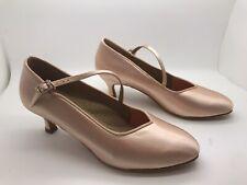 Chaussure de danse de salon pour femme dancelife couleur: tan