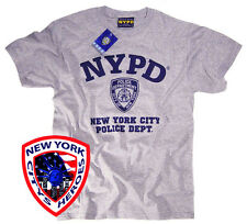 NYPD T SHIRT OFFICIALLY LICENSED BY THE NEW YORK CITY POLICE DEPARTMENT