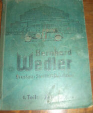 RARITÄT orig. KFZ Auto Katalog Bernh. Wedler Breslau Stettin Bautzen 215 (0447)