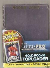 """100 Ultra Pro """" Rookie """" Toploaders Top Loaders + Bonus"""