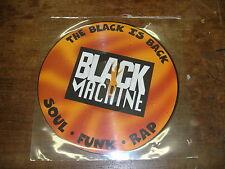 BLACK MACHINE The black is back- Soul-Funk-Rap PICTURE-DISC LP Promo