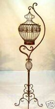 FRENCH large BIRD CAGE WROUGHT IRON  NEW 1m65 high wedding deco NIB gorgeous!