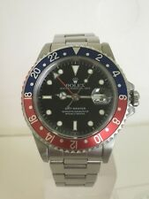 rolex gmt master pepsi Bezel stainless steel watch Ref 16700 Excellent Condition