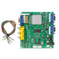 Video Converter CGA/EGA/YUV/RGB TO VGA Arcade Jamma Game Monitor to LCD GBS-8220