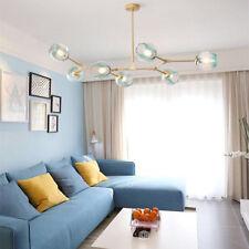 Large Chandelier Lighting Kitchen Glass Pendant Light Bar Lamp LED Ceiling Light