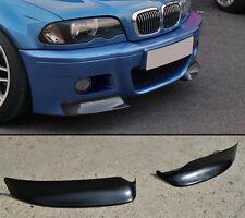 BMW E46 M3 series 3 front bumper addon splitter spoiler DON'T FIT M tech M sport