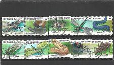 New Zealand 1997 Creepy Crawlies Booklet Set Fine Used