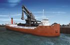 Ho Gauge - Kit Ship Great Lakes Ore Boat 10501 Neu
