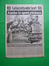 La Gazzetta dello Sport anniversario 90 anni 1896-1986 novant'anni