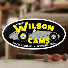 Dempsey Wilson Cams Aufkleber Sticker Rat Racing Hot Rod Rat V8 Old School 427