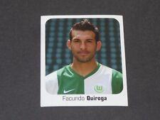 479 QUIROGA ARGENTINA WOLFSBURG PANINI FUSSBALL 2006-2007 BUNDESLIGA FOOTBALL