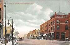 Aberdeen South Dakota Main Street Scene Historic Bldgs Antique Postcard K21596