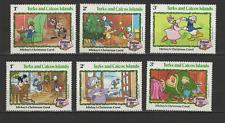 Turks & Caicos Islands 6 timbres neufs 1982 Walt Disney Mickey Donald /T3082