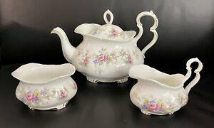 Royal Albert Colleen Teapot Set including A Large Teapot, Sugar Bowl, Milk Jug