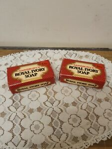 Vintage Sainsbury's 'Royal Ivory' Soap 150 gram - sealed x2