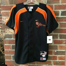 Nike Baltimore Orioles Mens Short Sleeve Jersey Shirt Embroidered Size M NEW