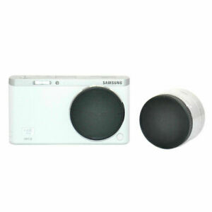 Body And Rear Lens Caps For Samsaung NX-MINI Mount Camera And Lens