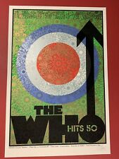 Chuck Sperry The Who US Tour Silkscreen Poster Print