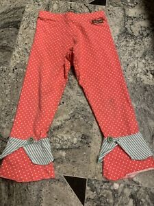 Matilda Jane 8 Girls Guc Polka Dot Ruffle Pants Leggings